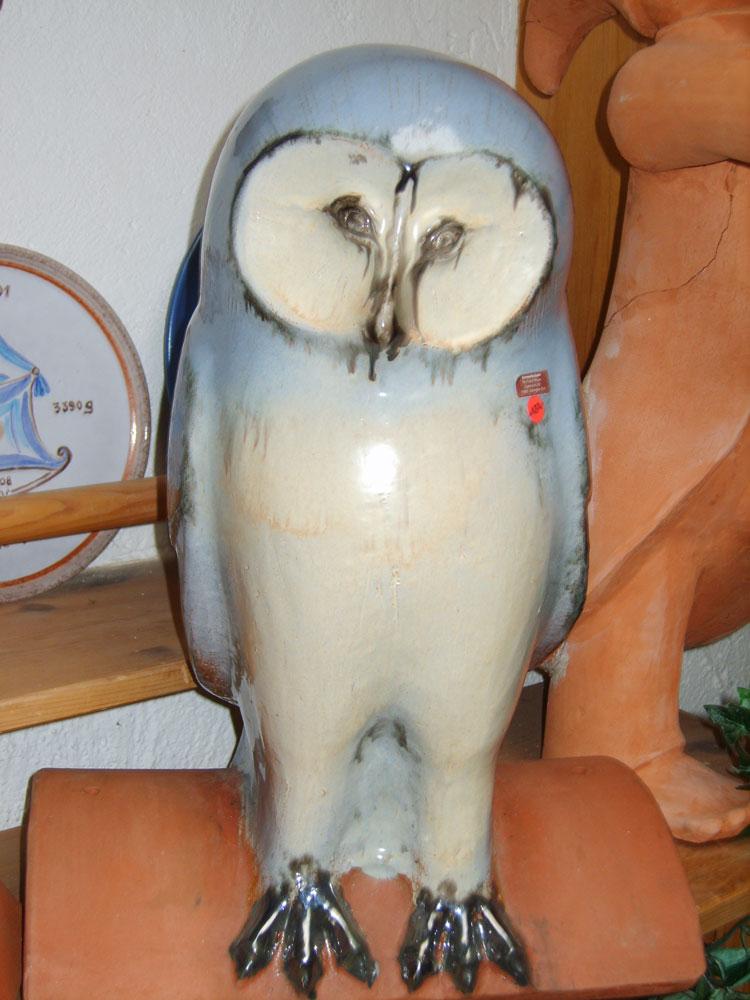 Keramik-Eule